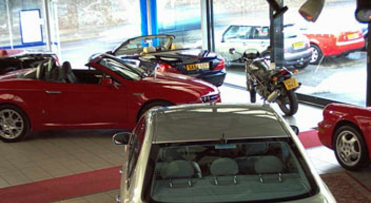Autoecosse showroom